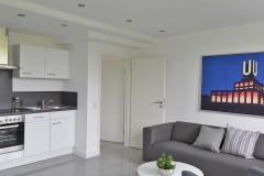 Wohn / Esszimmer mit offener Küche